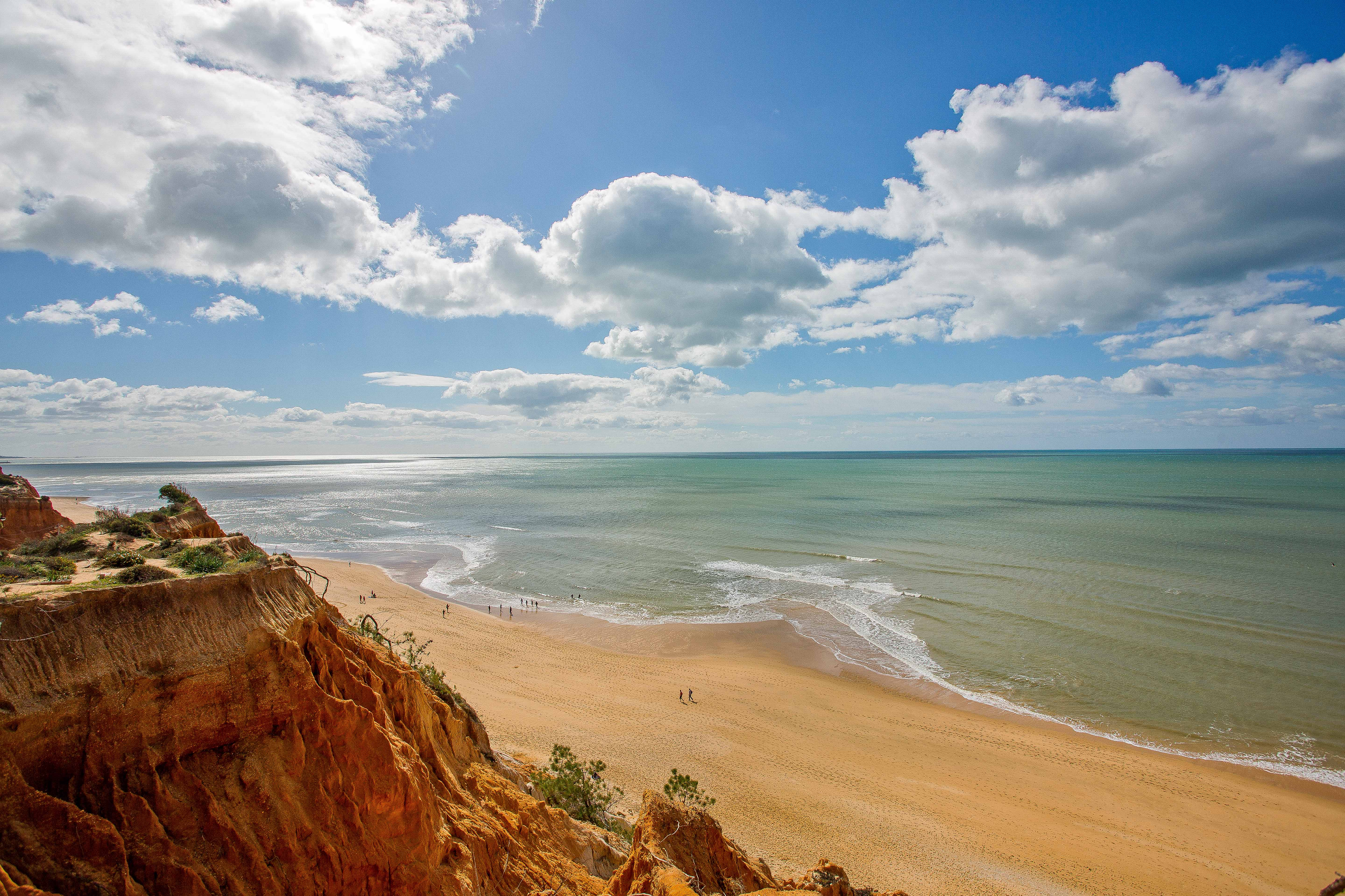 Praia de Falésia is one of the most beautiful beaches in the world.